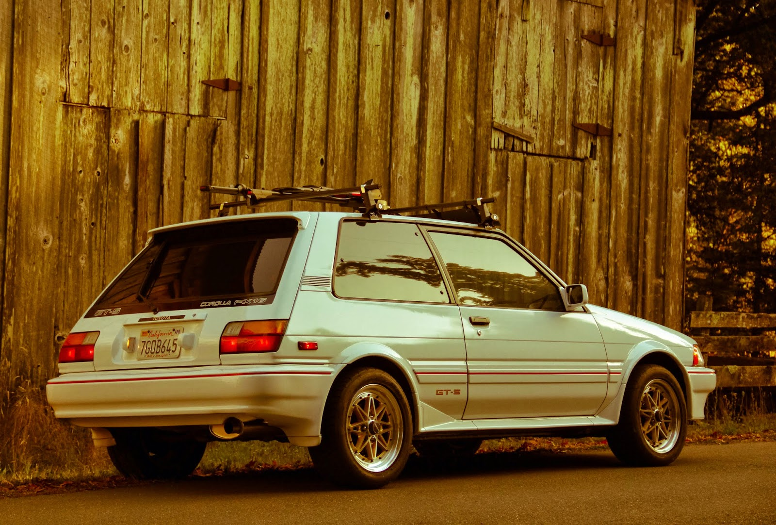Toyota Corolla FX-16 GTS 1987: Pretty Pictures of FX16 GT-S