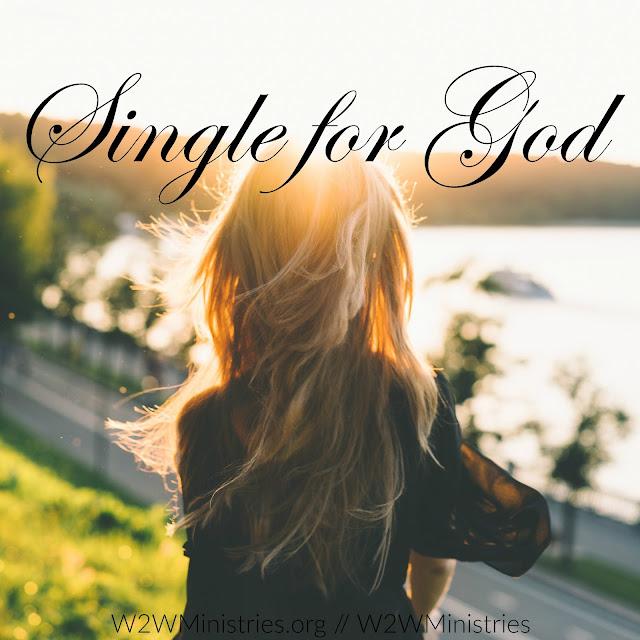 Single for God. #singleness #women #relationships