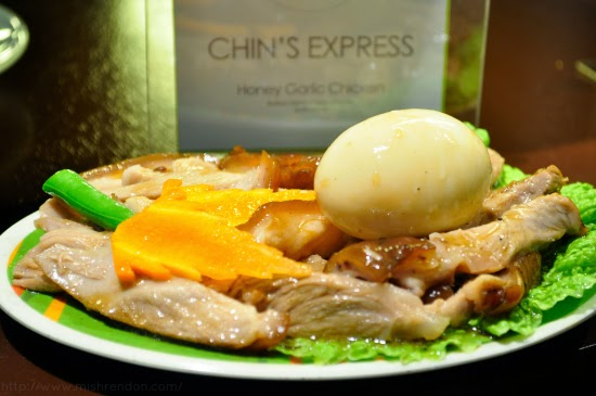 Honey Garlic Chicken from Chin's Express SM Fairview Foodcourt