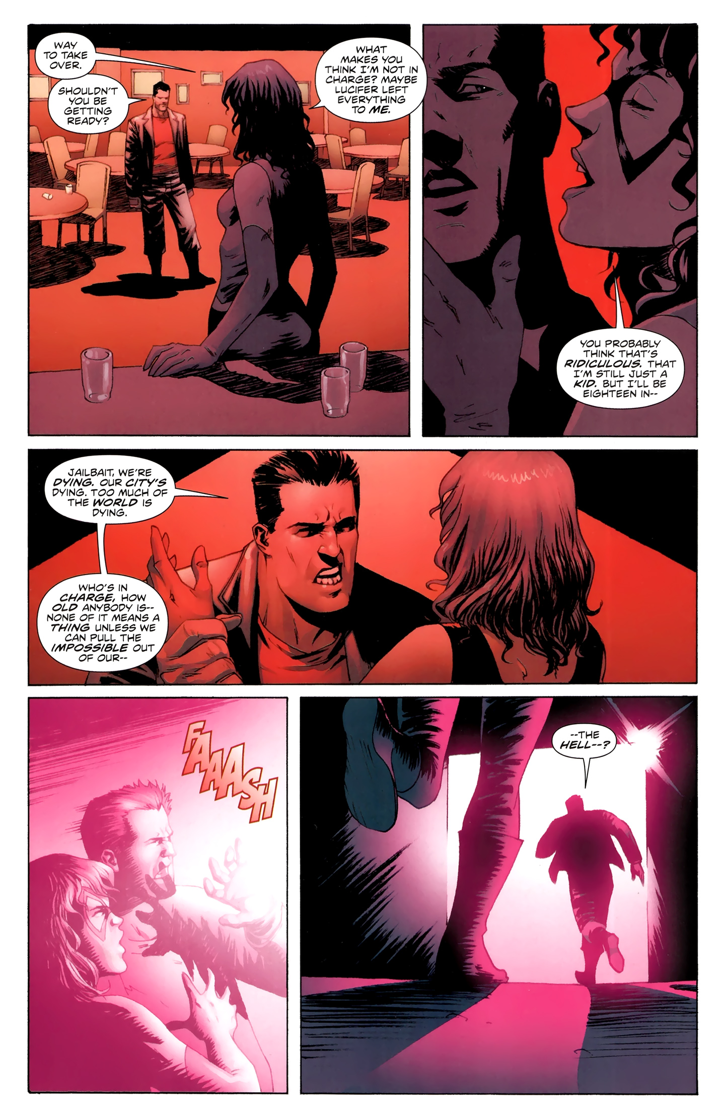 Read online Incorruptible comic -  Issue #30 - 14