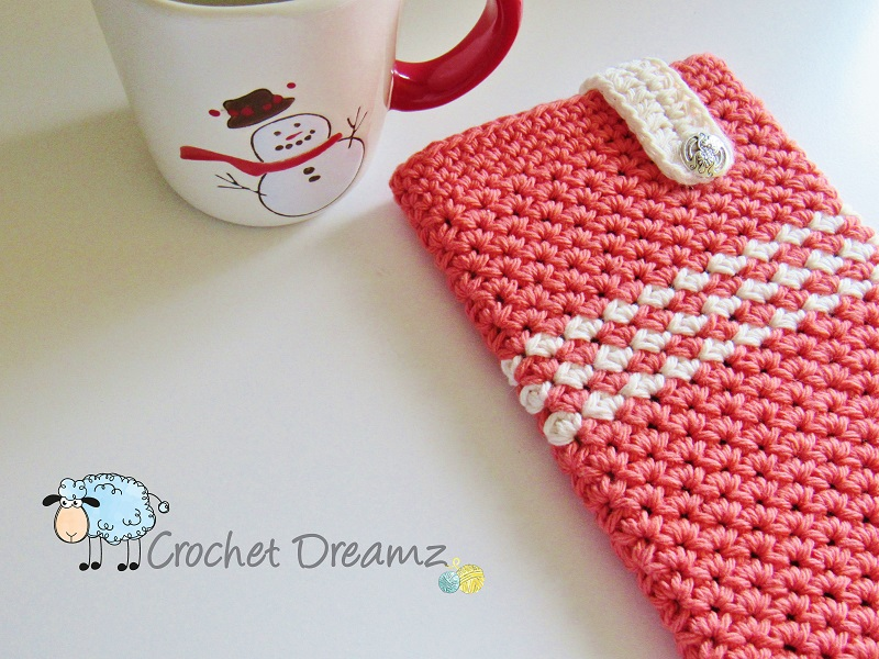 Mobile Device Cozy Or Case Crochet Pattern Customize For Any Device