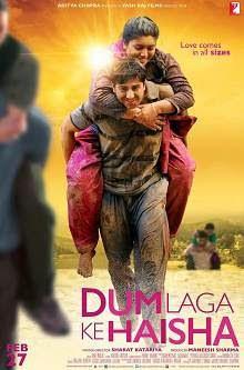 Dum Laga Ke Haisha (2015) Hindi Movie Poster