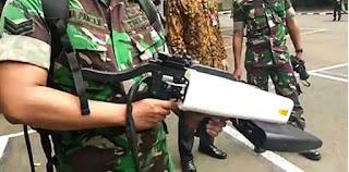 Tactical Drone Jammer Gun