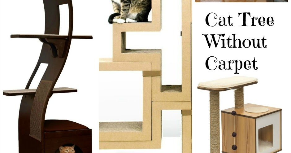 Cool Cat Tree Plans: Best Cat Tree Without Carpet Ideas