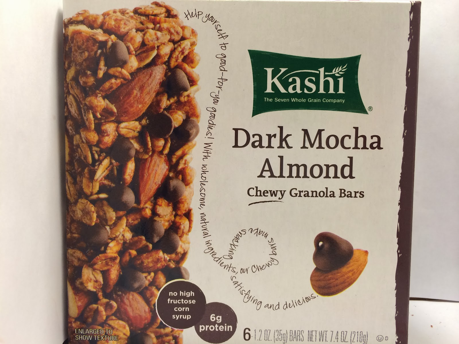Crazy Food Dude: Review: Kashi Dark Mocha Almond Chewy
