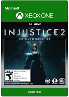 Injustice 2 Game Cover Xbox One Digital Deluxe