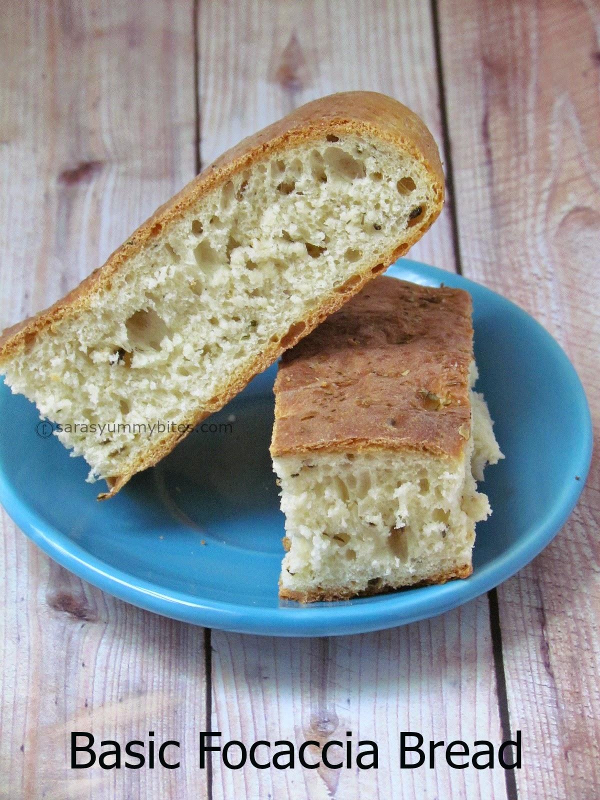 Basic Focaccia Bread