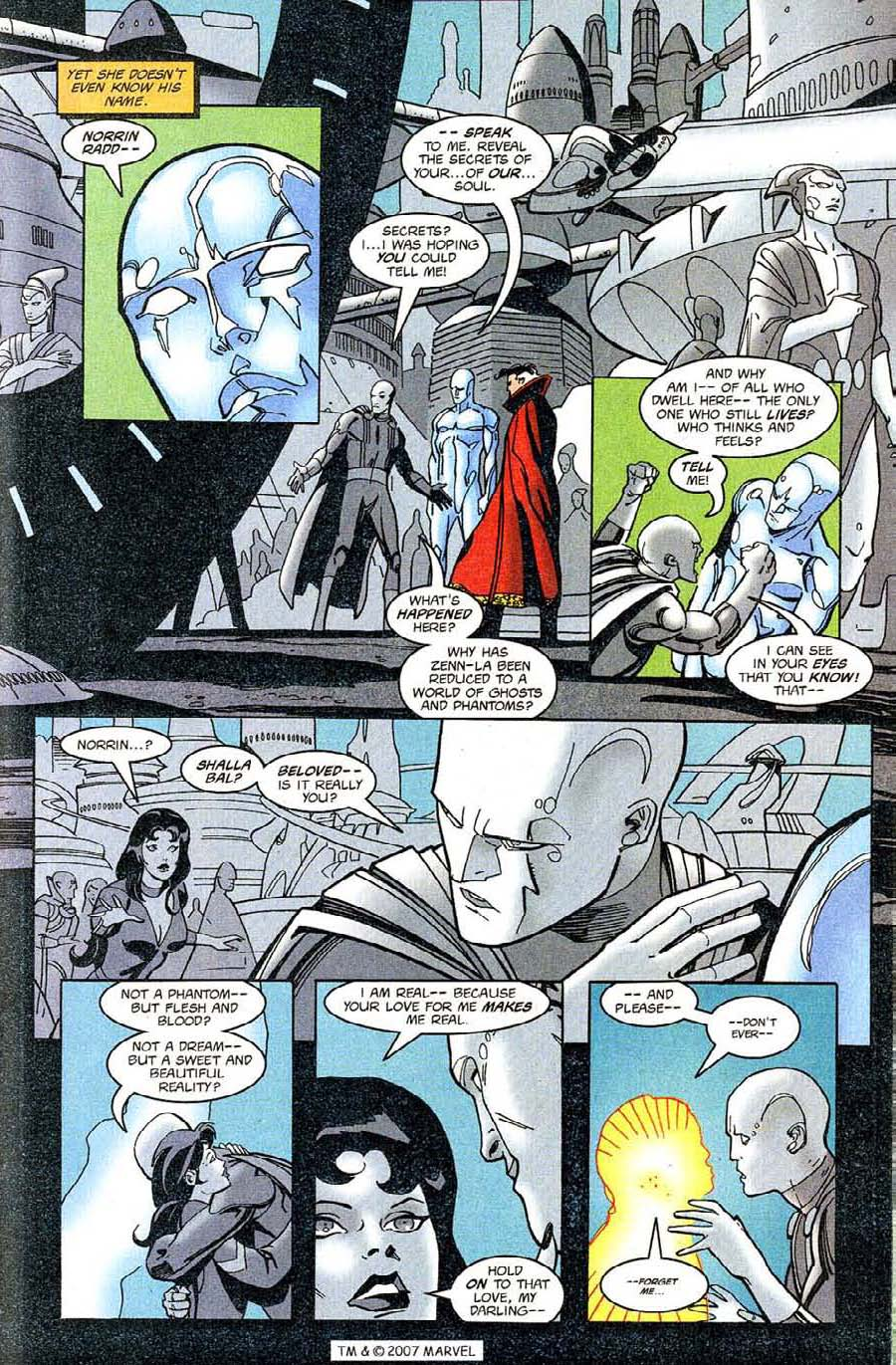 Read online Silver Surfer (1987) comic -  Issue #126 - 21