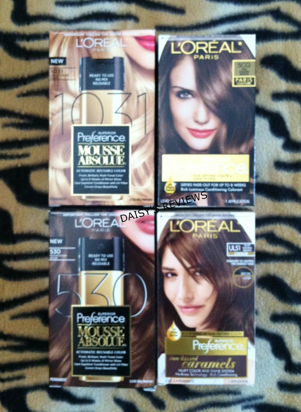 Welcome To Daisys Reviews Loreal Paris Hair Color Review