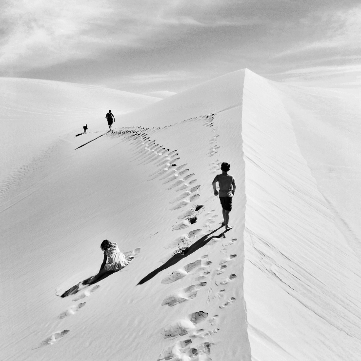 sand dunes photography