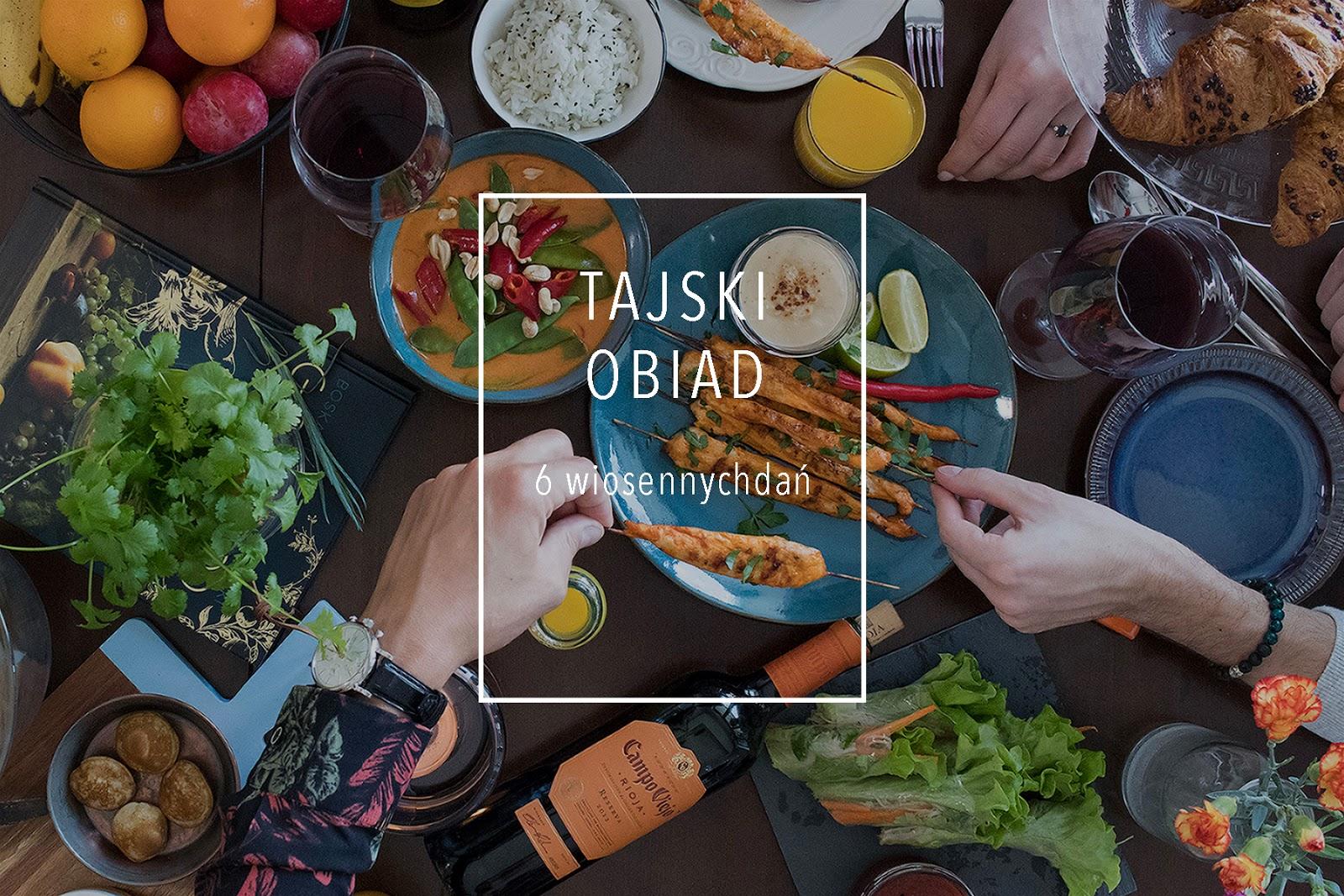Jak Ugotować Tajski Obiad łatwe Wiosenne Curry Sajgonki I