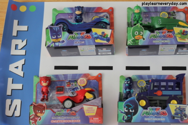 af627b33ac7fc PJ Masks Race Day - Play and Learn Every Day