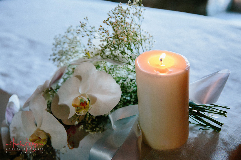 dettagli matrimonio religioso candela
