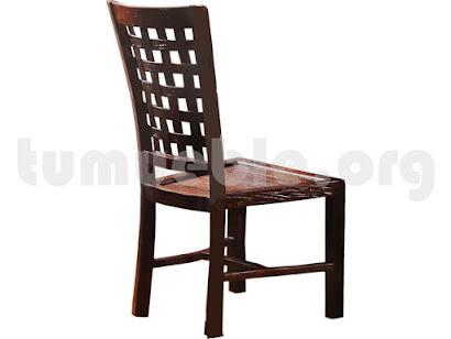 silla comedor en teca 4010