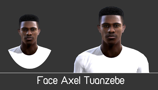 PES 2013 Face Axel Tuanzebe by Turtle Facemaker