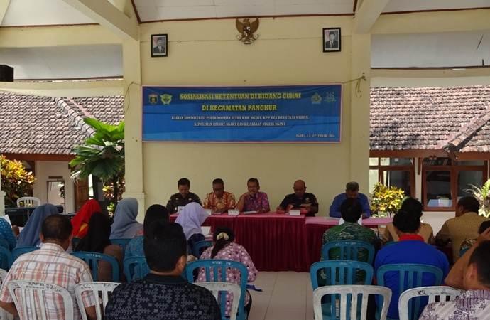 Pemkab Ngawi Gandeng KPP Bea Cukai Madiun Sosialisasikan Pita Cukai