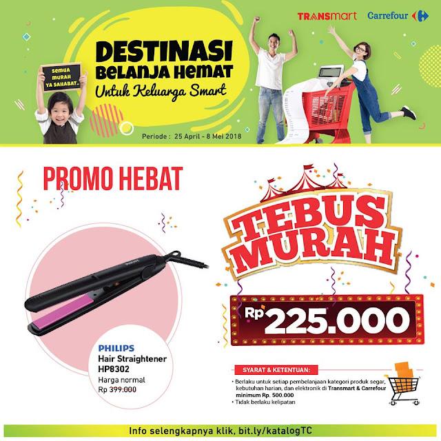 TEBUS MURAH Philips Hair Straightener