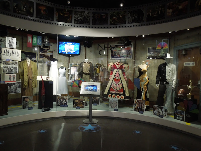 Universal Studios Hollywood TV costume exhibit