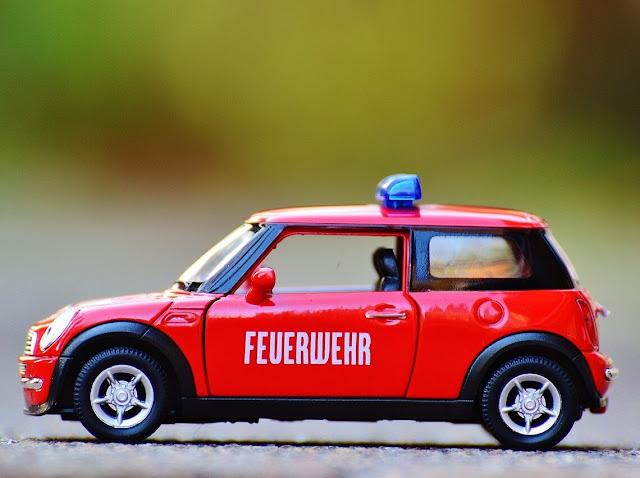 Hotwheels Miniature Mini Cooper Red/Black