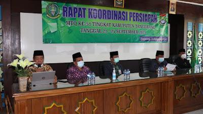 MTQ Kabupaten Tangerang, 948 Peserta Mendaftar secara Online