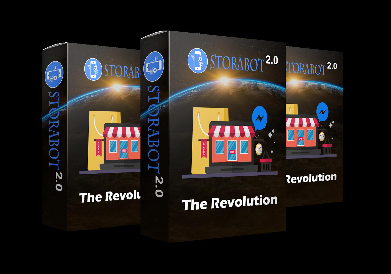 Storabot 2.0 - Messenger Store Pertama di Dunia