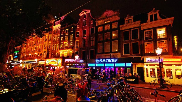 Bairro De Pijp em Amsterdã