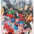 Nadciąga inwazja kolorów czyli superbohaterowie z kolorowanki /Comics Superheroes: Batman, Spiderman, Green Lantern etc. in coloring book