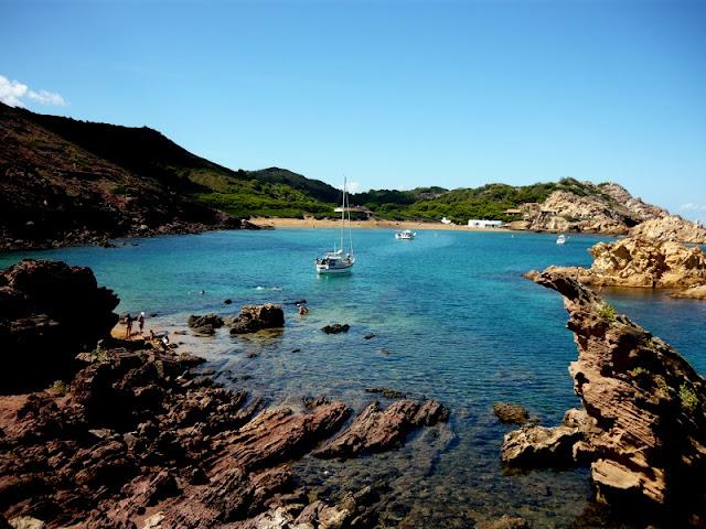 Cala Pregonda em Menorca