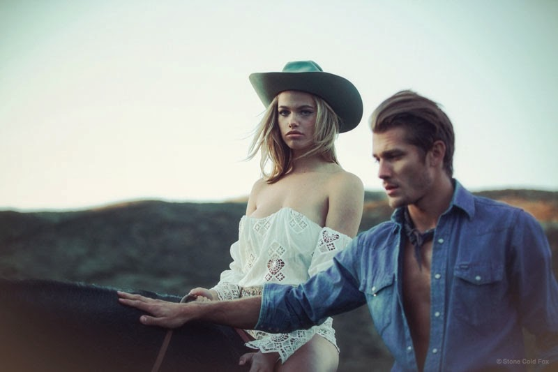 Stone Cold Fox Spring-Summer 2015 Lookbook featuring Hailey Clauson