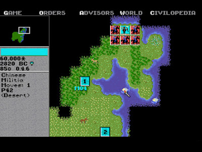 Sid Meire's Civilization Game Screenshots 1991
