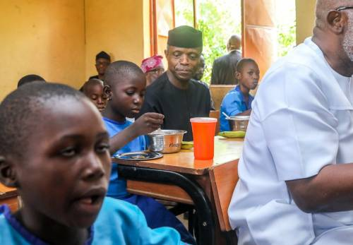 Over 7m Pupils Are being Fed Daily In Nigeria, Says FG
