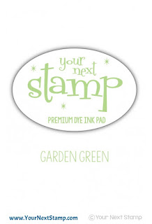 Premium Dye Ink Pad - Garden Green