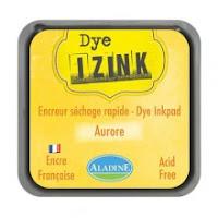 Izink Dye Ink Pad - Jaune Aurora