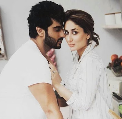 Kareena Kapoor and Arjun Kapoor Photoshoot For Filmfare Magazine April 2016