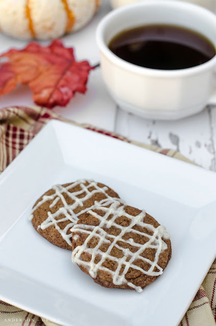 Gingersnaps with Apple Cider Glaze