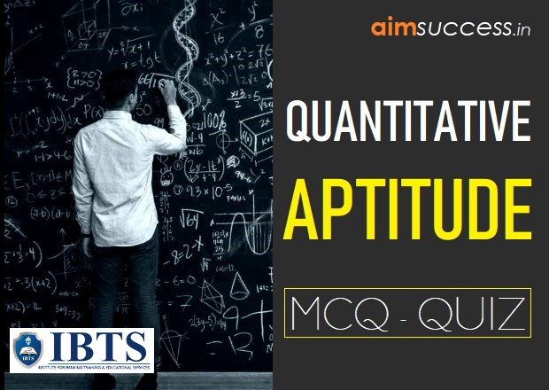Quantitative Aptitude MCQ for IBPS PO/RRB Mains 2018: 03 Sep