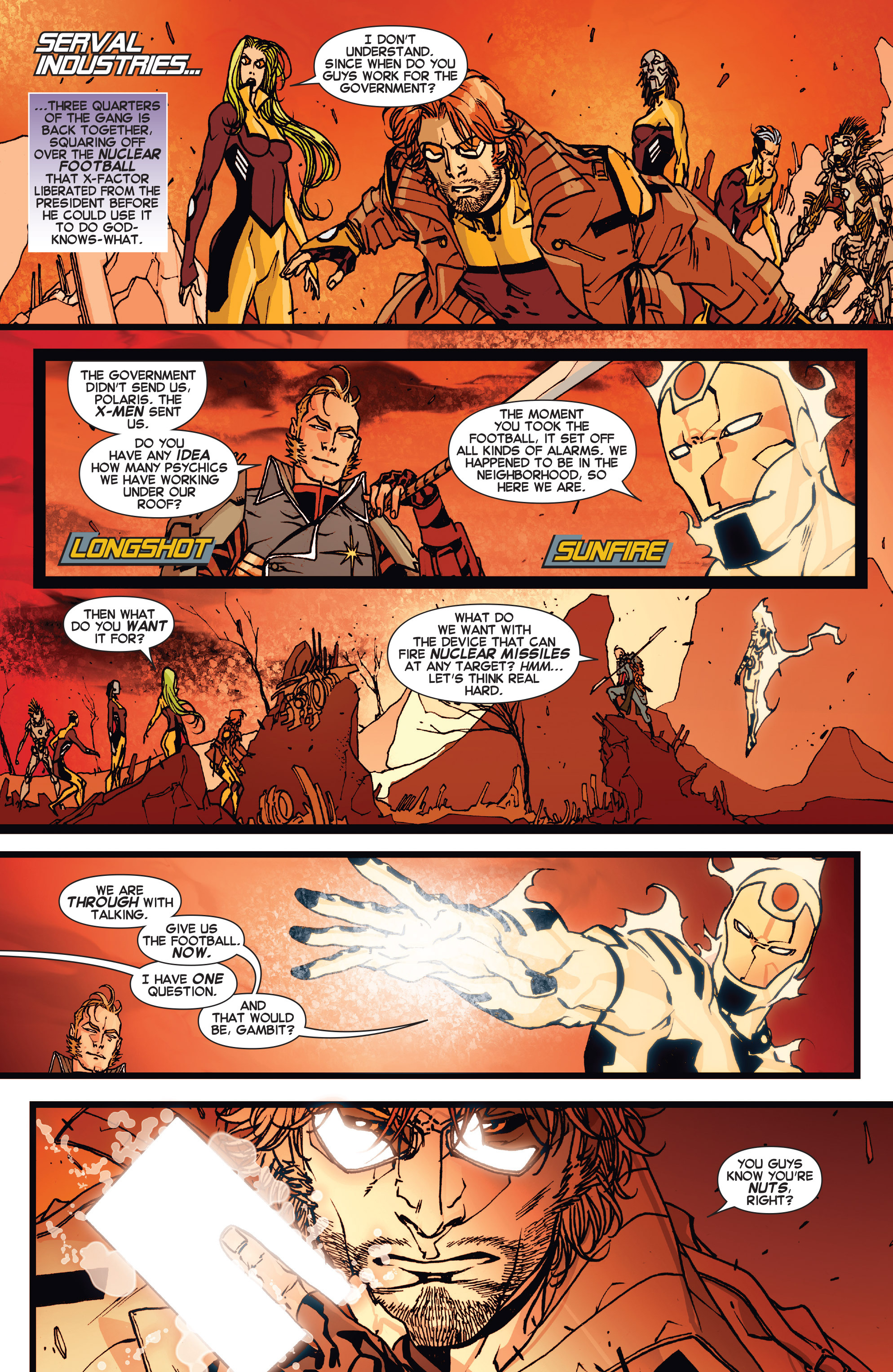 Read online All-New X-Factor comic -  Issue #17 - 4