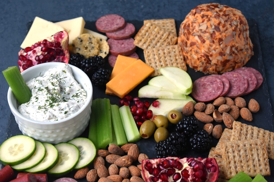 Holiday appetizer board