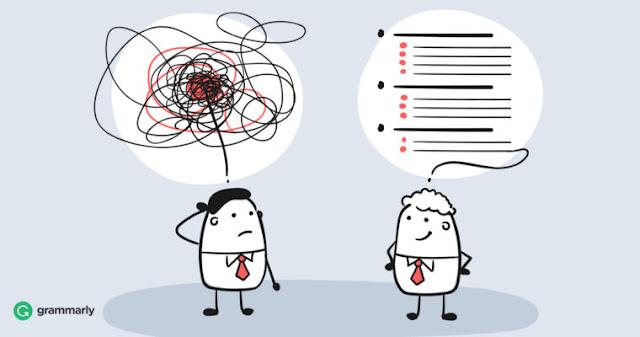 تنظيم الأفكار والخطط