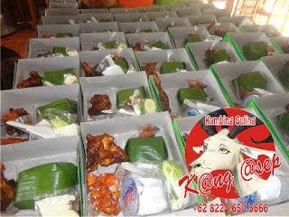 Nasi Kotak di Cianjur