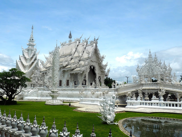 White Temple in Chiang Rai province, north Thailand
