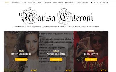 Web Escritora Marisa Citeroni