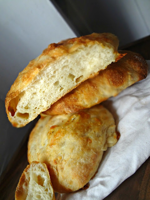 Ciabatta Bread with Morel & Leek Jack Cheese