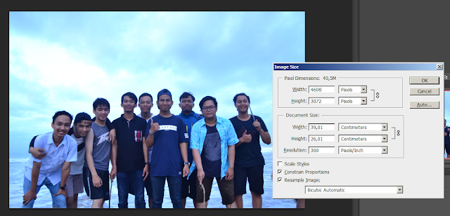 Compress Gambar di Photoshop