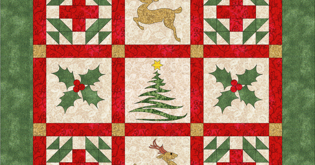 Debby Kratovil Quilts Christmas In September Free Pattern