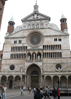 Monteverdi studied music at Cremona's Duomo