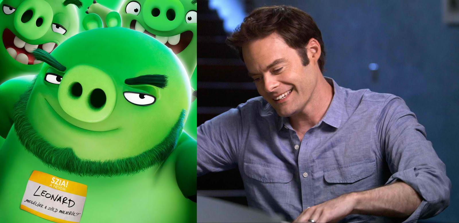 """Chikkaness Avenue: FROM """"INSIDE OUT,"""" BILL HADER NOW INVADES"""