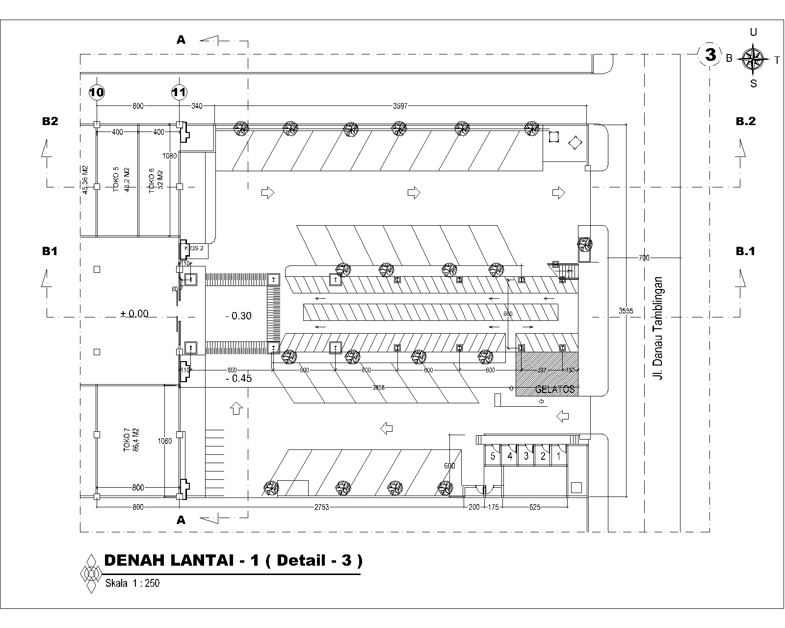Ukuran Tempat Parkir Bajo Work Shop Design And Contruction Penambahan Lantai