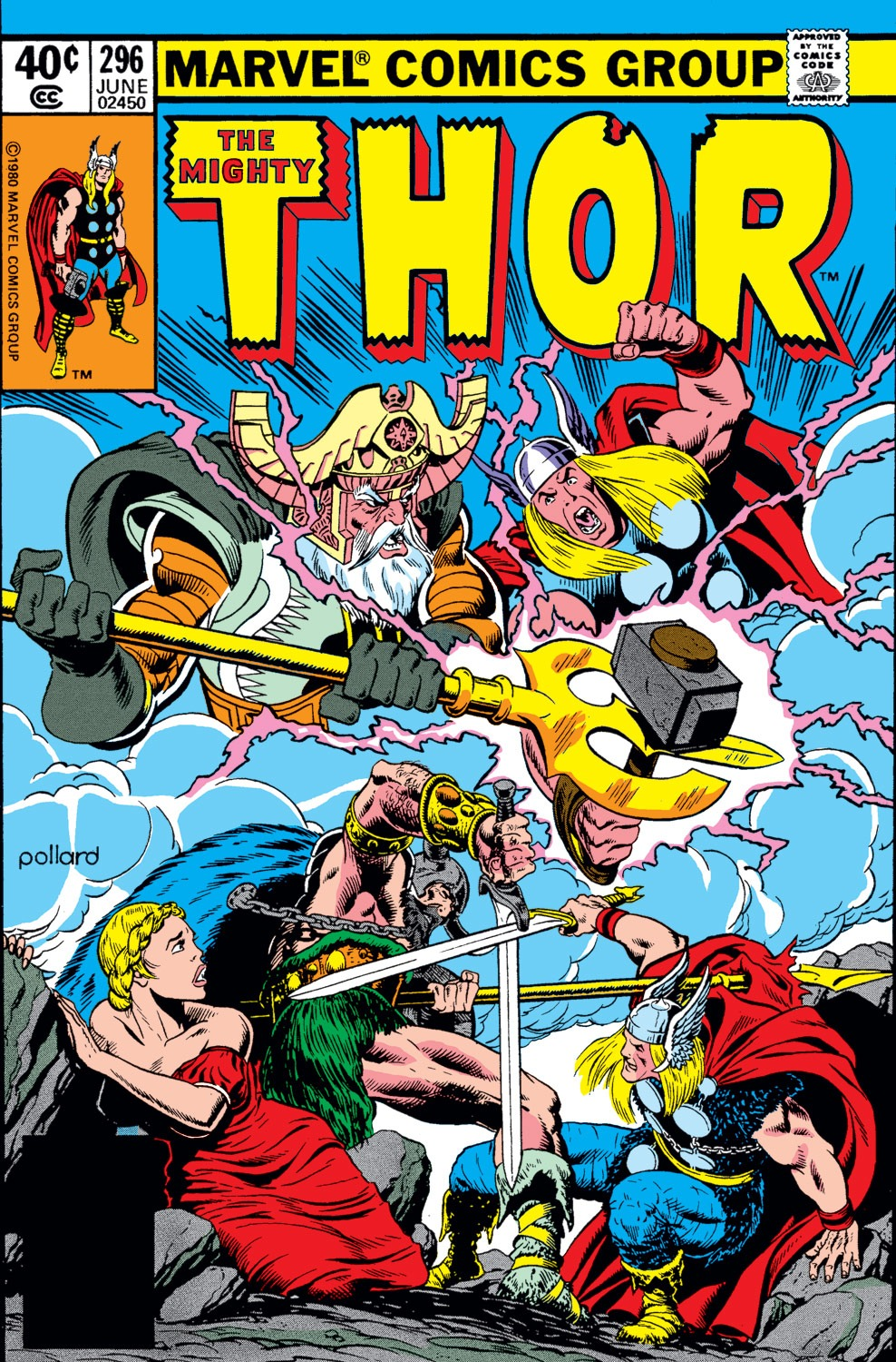 Thor (1966) 296 Page 1