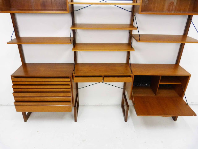 Poul Cadovius for Cado Royal System Danish ModernTeak Wall Unit 2